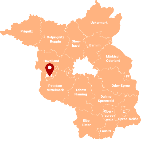 Immobilienmakler Brandenburg an der Havel - Karte