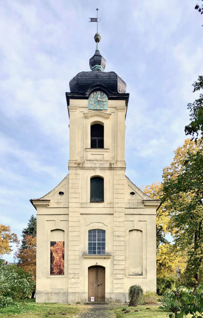 Makler Päwesin 14778 - Die Kirche Päwesin am Kirchplatz