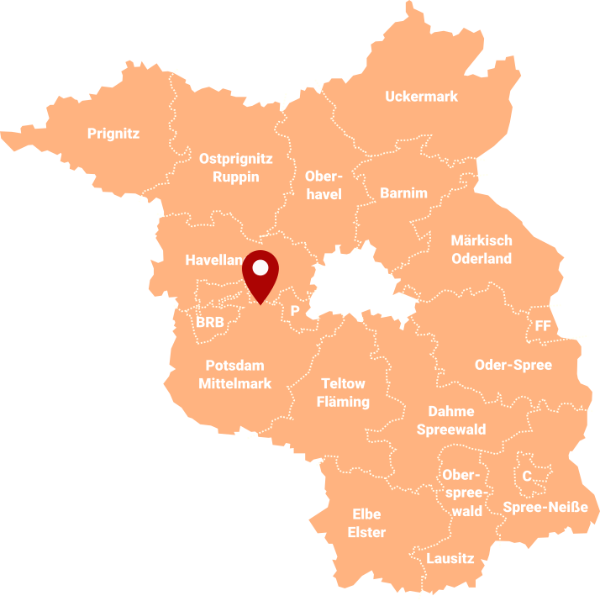 Makler Petzow: Karte