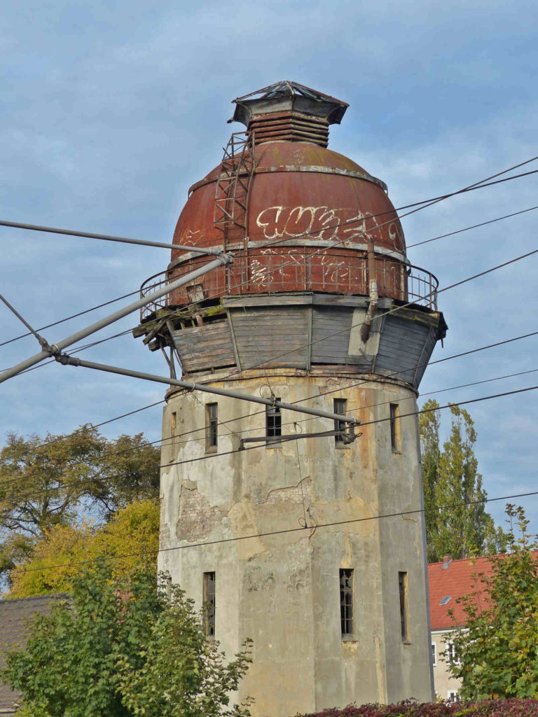 Makler Havelland: Der alte Wasserturm in Rathenow