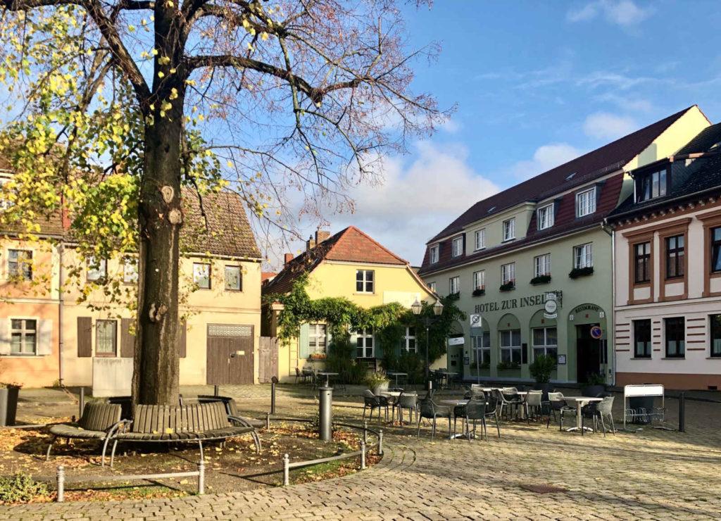 Makler Werder - Marktplatz und Baderstrasse