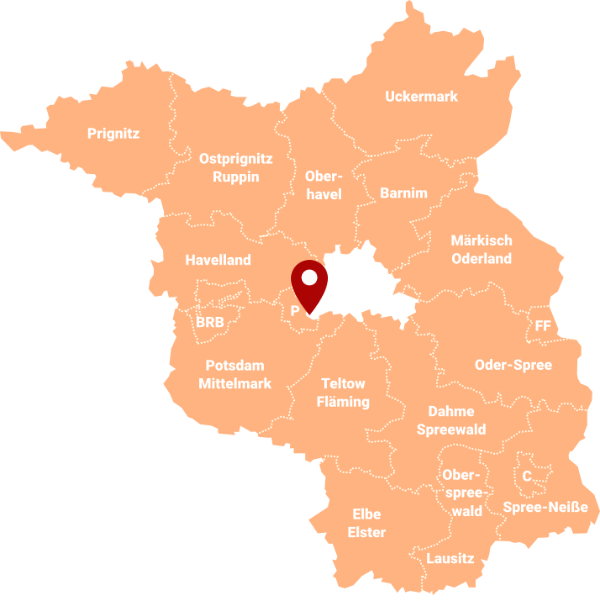 Makler Drewitz-Kirchsteigfeld 14480: Karte