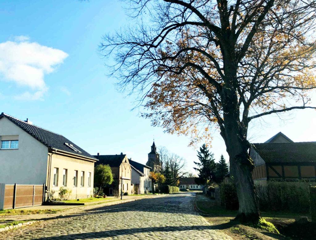 Immobilienmakler Falkenthal:  Historischer Dorfkern
