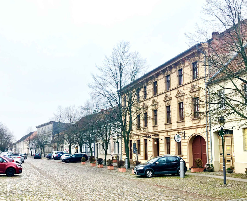 Makler Kremmen - historische Gebäude am Marktplatz