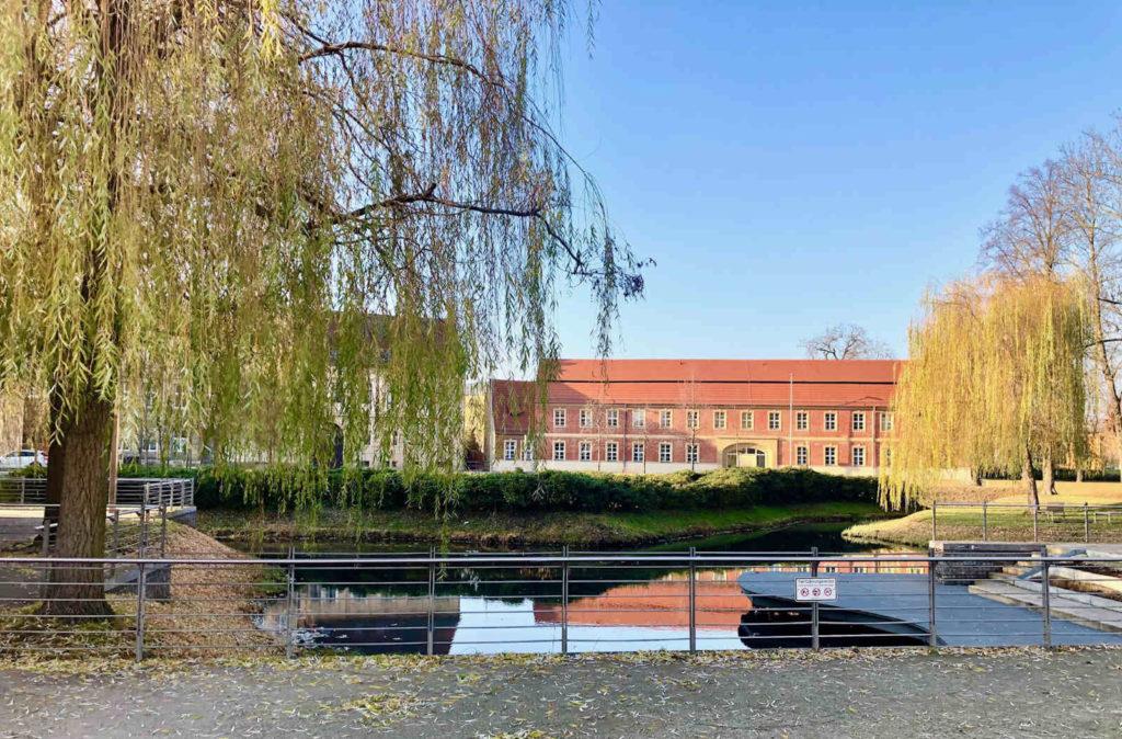 Makler Luckenwalde - Nuthepark mit und Vierseithof