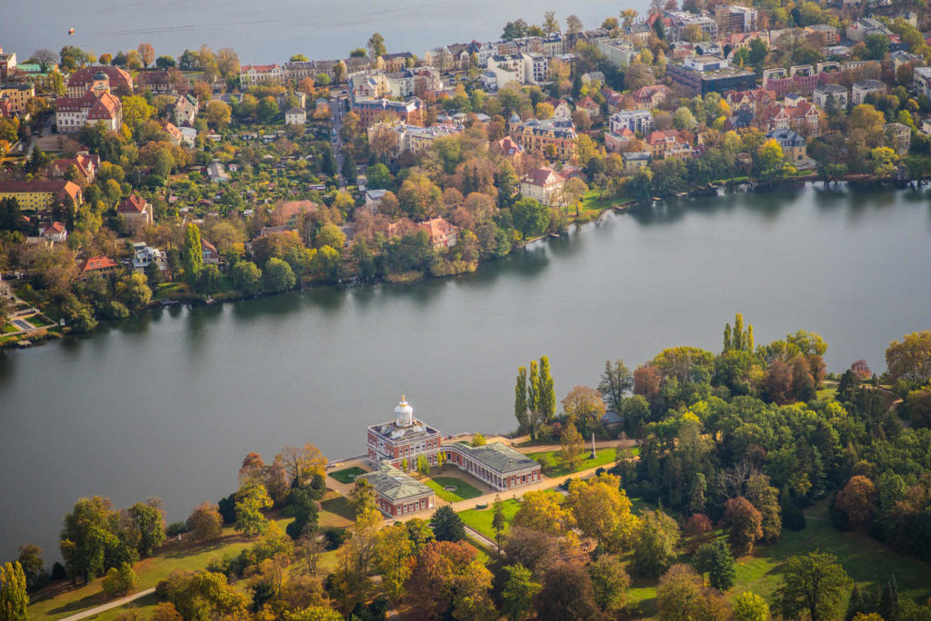 Makler Potsdam: Der Heilige See mit Marmorpalais