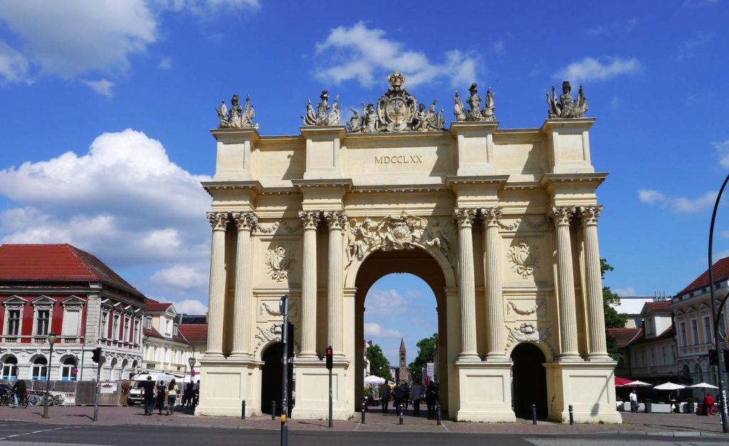 Makler Potsdam - Brandenburger Tor am Luisenplatz