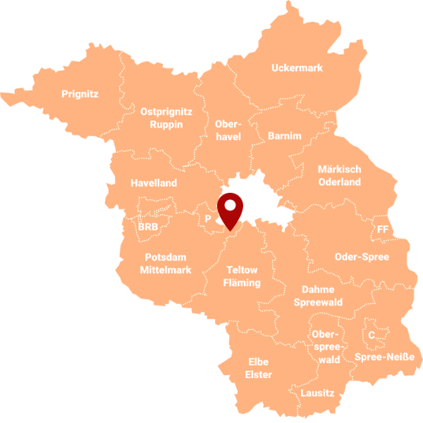 Makler Stahnsdorf 14532: Karte