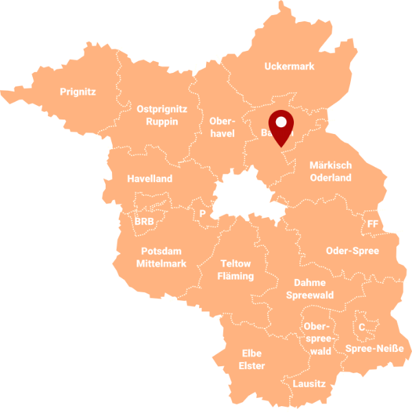 Makler Eberswalde 16227 - Karte