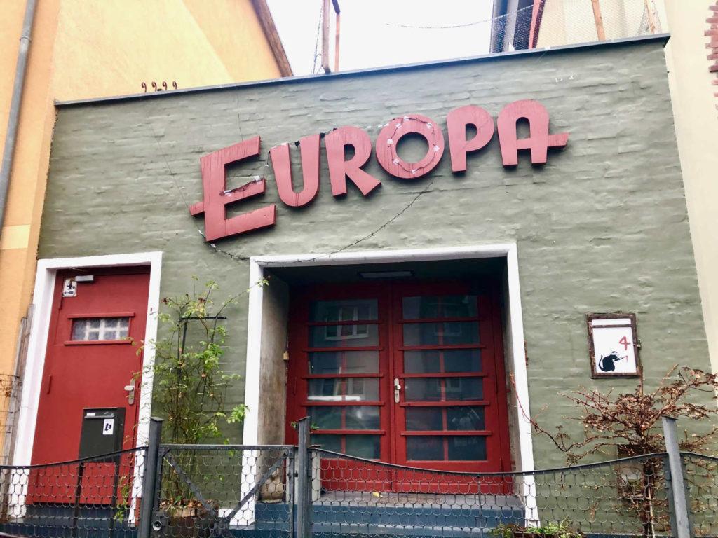 Makler Grünau: altes Kino Europa