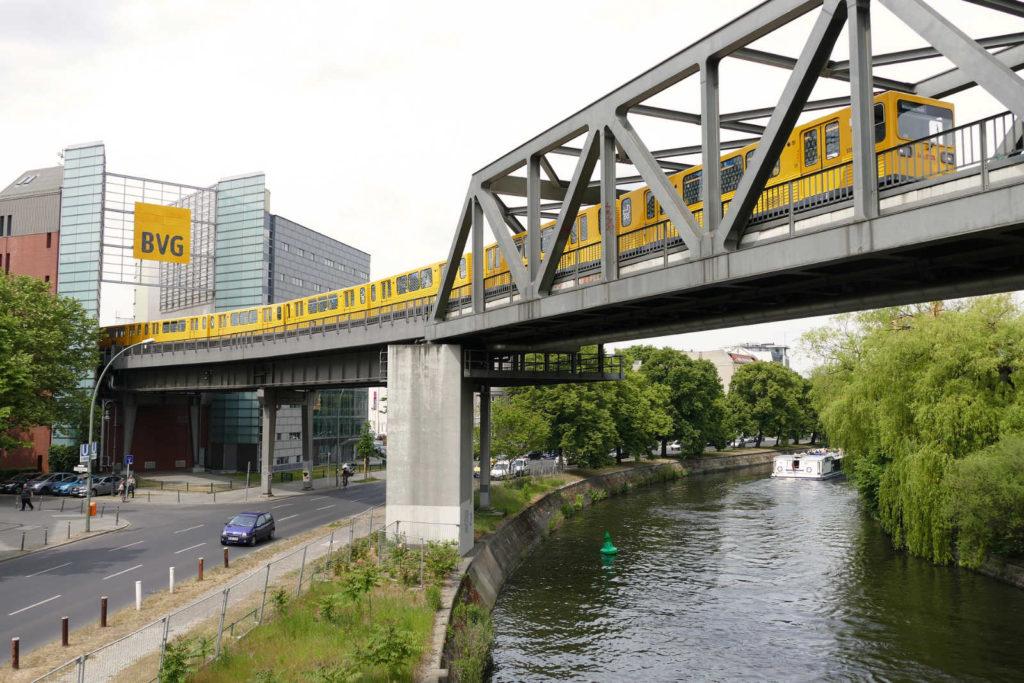 Makler Friedrichshain-Kreuzberg: Hochbahn am Landwehrkanal