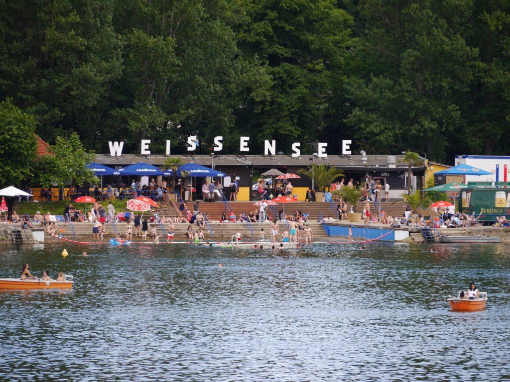 Makler Weißensee: Freibad