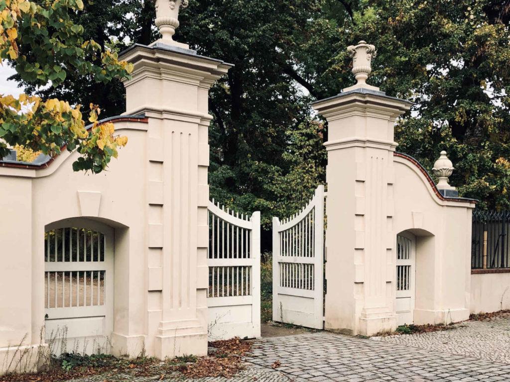 Makler Buch: Schlosspark