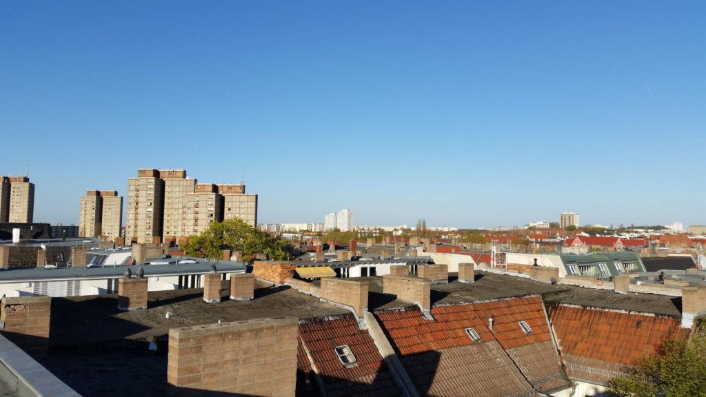 Makler im Prenzlauer Berg: Dächer