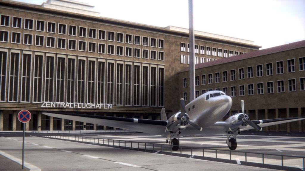 Makler Tempelhof:  Flughafen Rosinenbomber