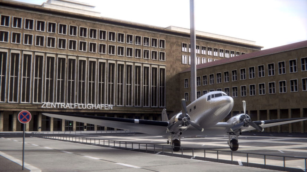 Makler Tempelhof-Schöneberg:  Flughafen Rosinenbomber