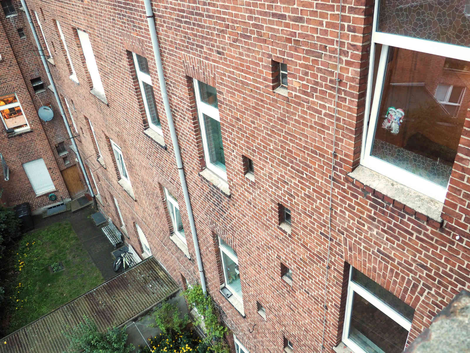 Rückansicht Immobilie in Wittenberge