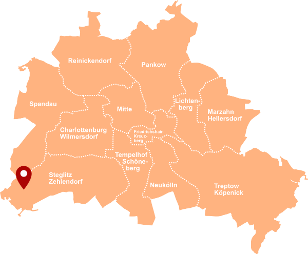 Makler Colonie Alsen 14109: Karte