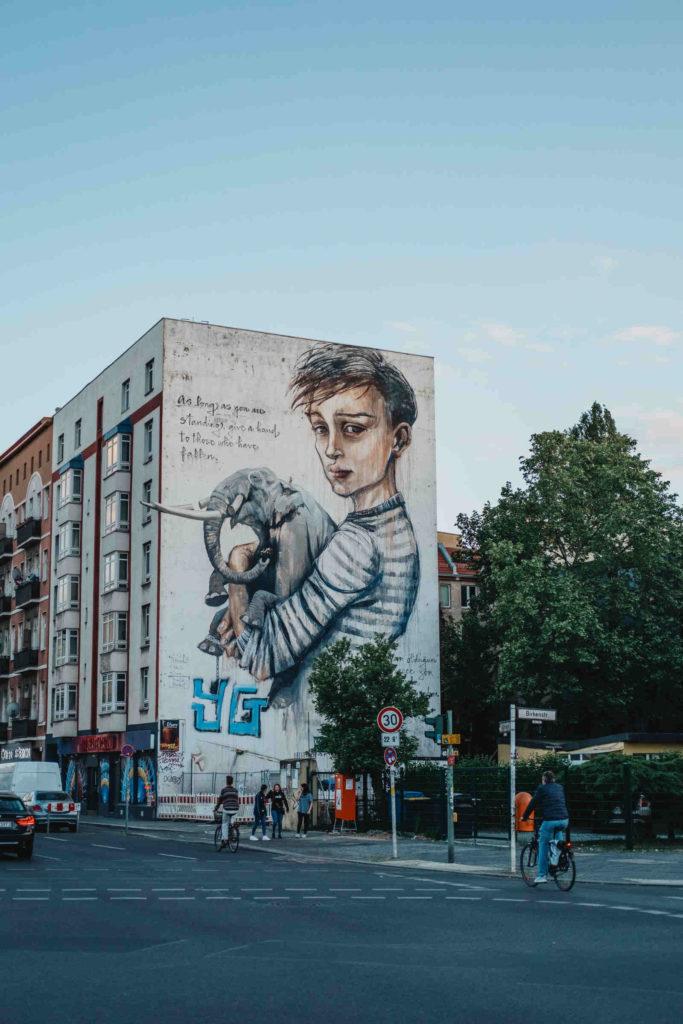 Makler Moabit: Wandmalerei