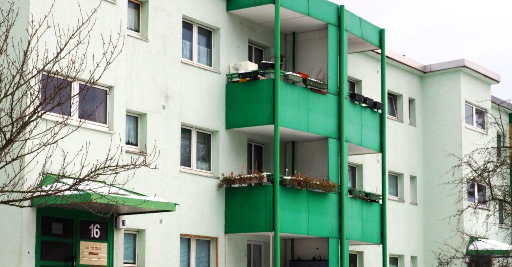 Makler Paul-Hertz-Siedlung: Wohnblock