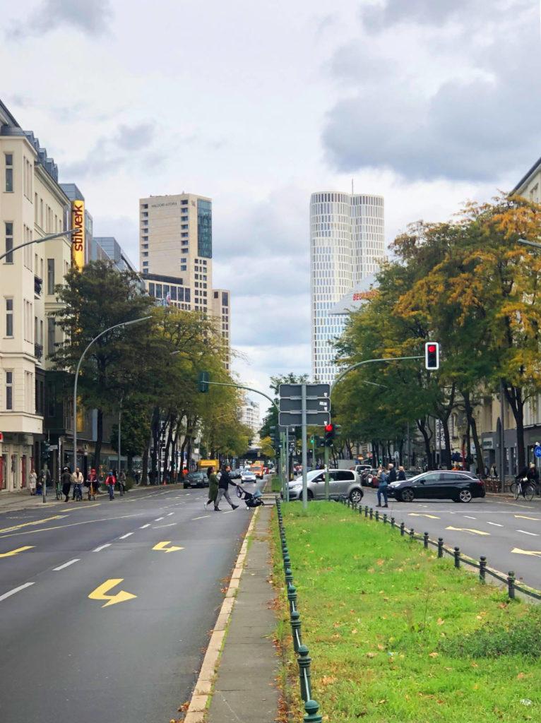 Makler Savignyplatz: Kantstraße am Savignyplatz