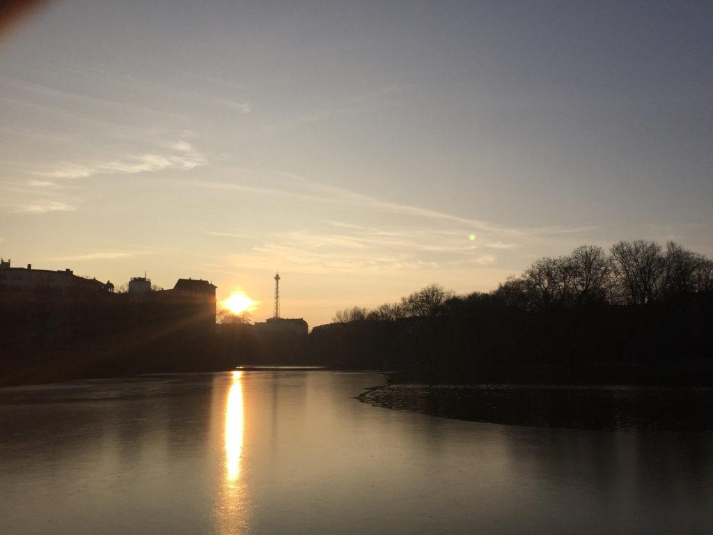 Makler Witzleben 14057: Sonnenuntergang am Lietzensee