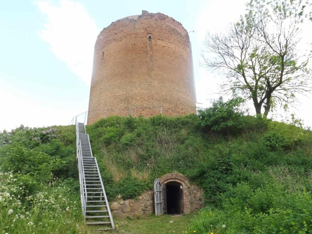 Makler Angermünde 16278 - Grützturm der Stolper Burg