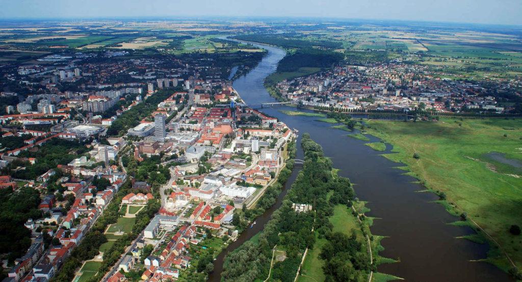 Makler Frankfurt (Oder): Luftbild Odertal