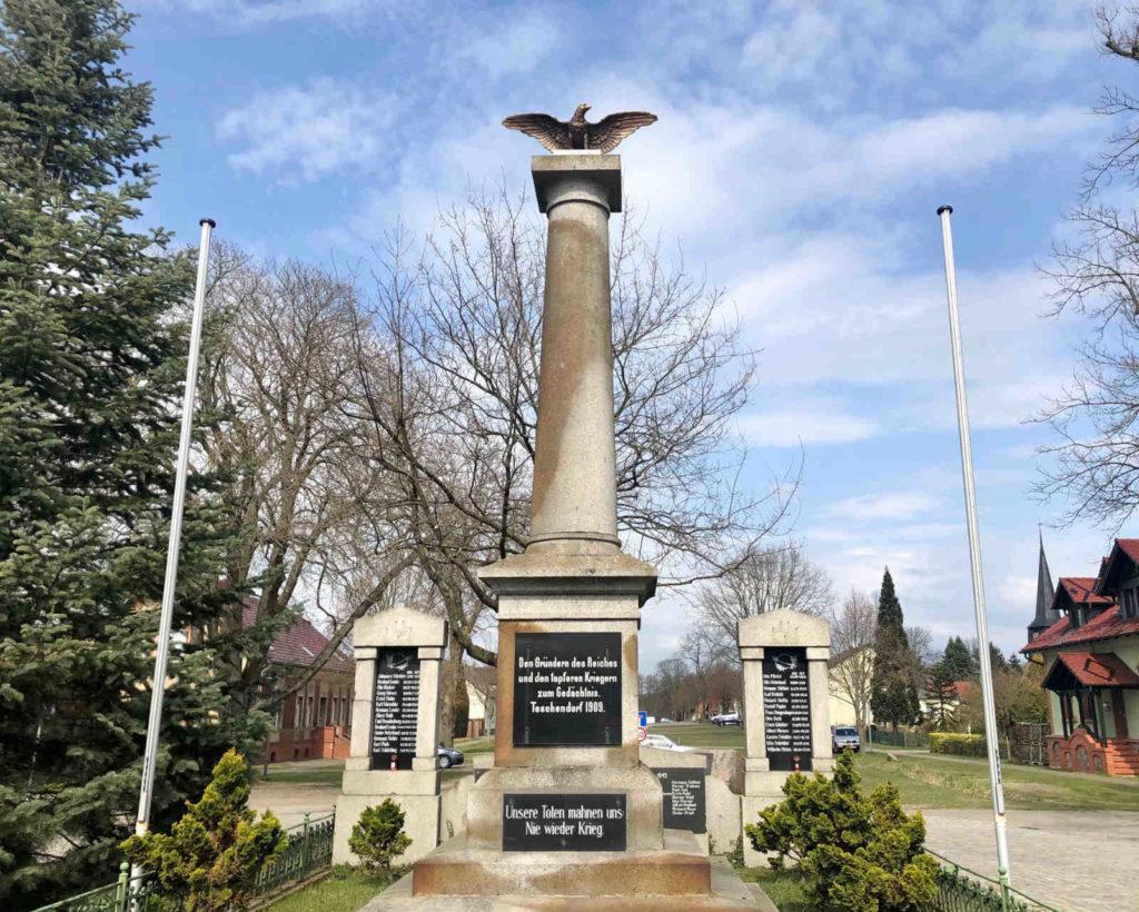 makler teschendorf - Denkmal