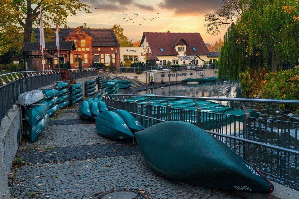 Makler Spreewald: Spreehafen in Burg
